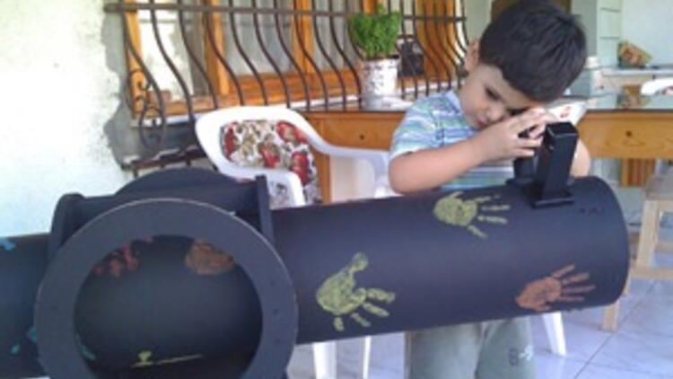 Her okula bir teleskop