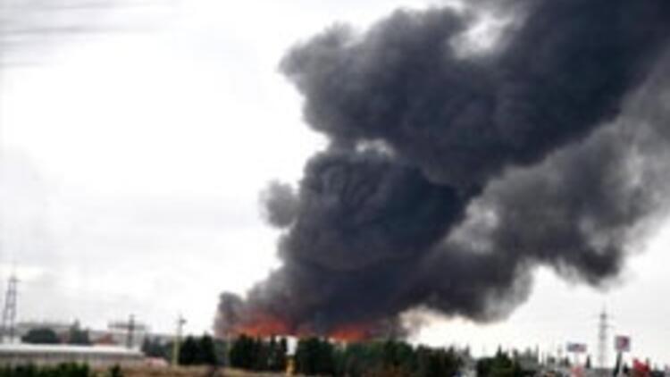 Dünyanın en büyük fabrikasında yangın çıktı