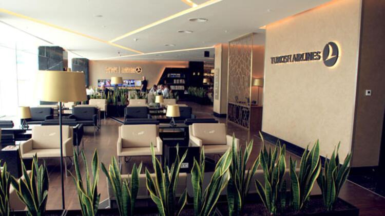 THY İzmir'deki 'lounge'u yeniledi