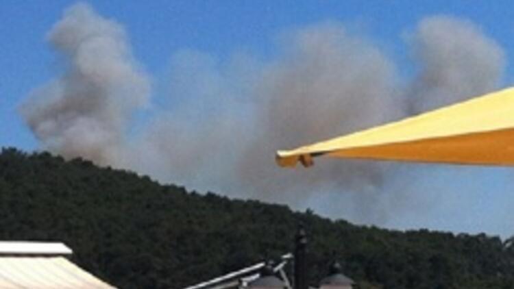 Heybeliada'nın ardından Kahramanmaraş'ta da orman yangını başladı