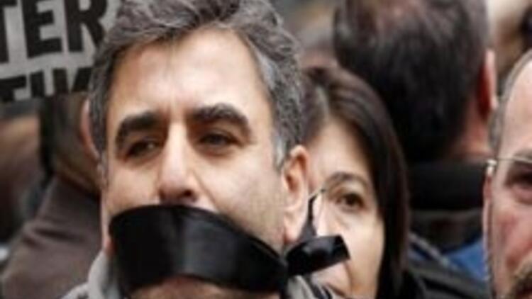 Gazeteciler Taksim'de