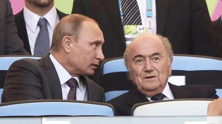 Vladimir Putin: Sepp Blatter'e Nobel Ödülü verilmeli