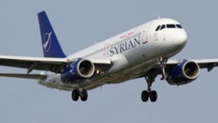 Suriyeli isyancılar sivil uçağa ateş açtı
