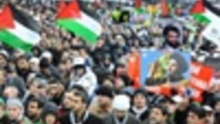 Thousands protest Israeli attacks on the Gaza Strip in Turkey