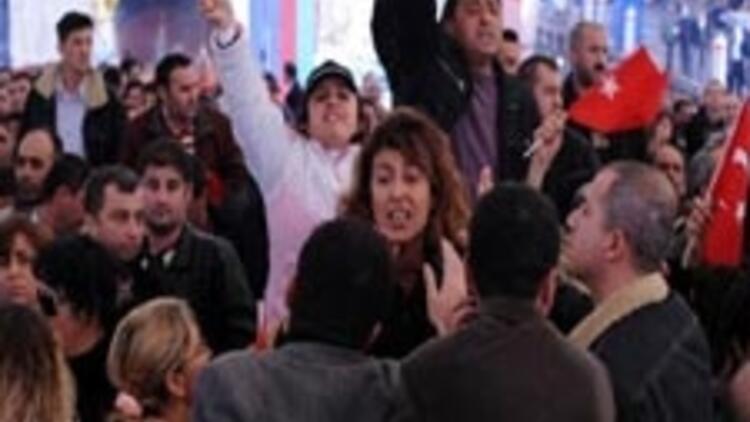 Tekel işçilerinden Başbakana protesto