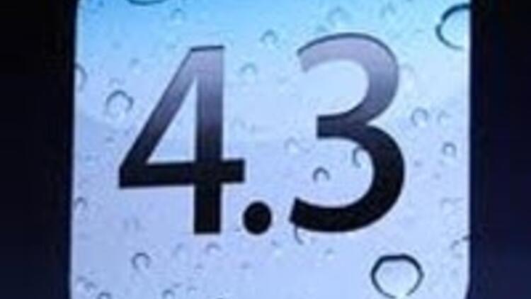 Apple'dan iOS 4.3 güncellemesi