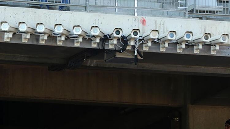 Kameralar kayıtta taraftarlar çatıda