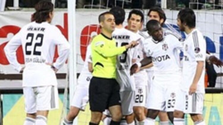 Beşiktaşlı futbolculara polis kalkanı