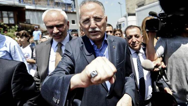 Ekmeleddin İhsanoğlu'na Hak ve Adalet Partisi'nden destek