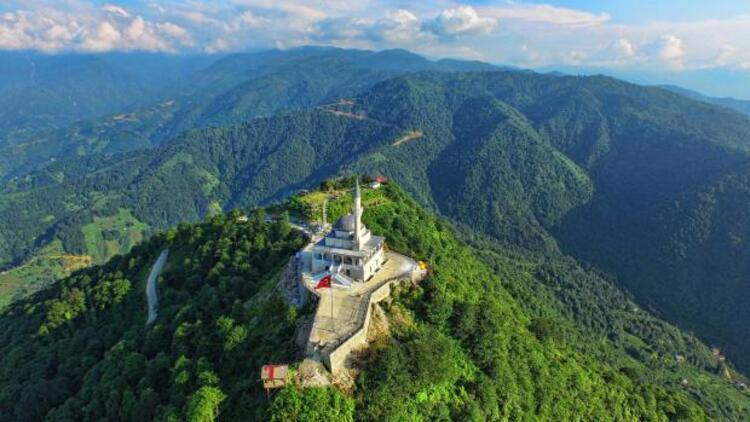 Kıble Dağı Cami'nin inşaatı bitti, açılışı Erdoğan yapacak