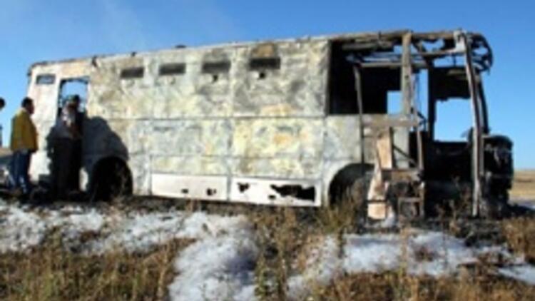 Cezaevi aracında yangın: 5 mahkum öldü