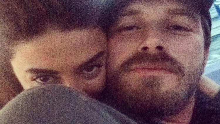 Kıvanç Tatlıtuğ ile Başak Dizer'in aşk selfie'si