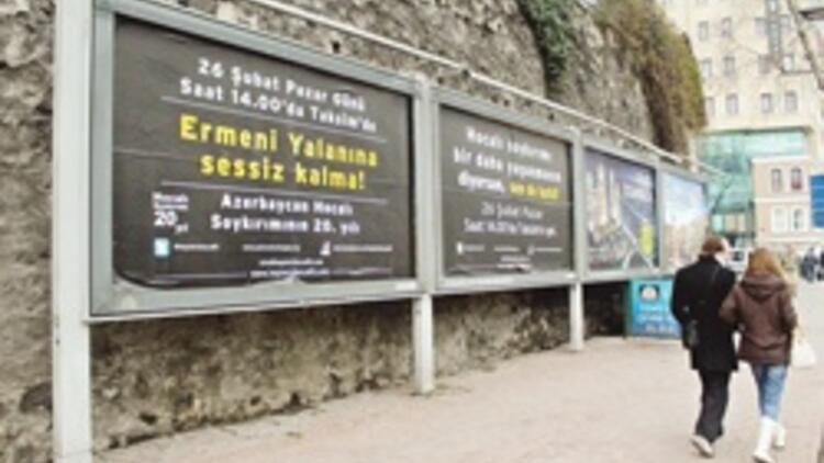 Hocalı için Taksim'e
