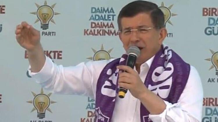 Davutoğlu: HDP saldırısını yapan zanlı DHKP-C'den tutuklanan bir terörist