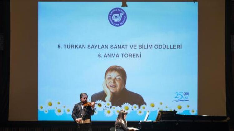 Türkan Saylan 5. sanat ve bilim ödülleri sahiplerini buldu