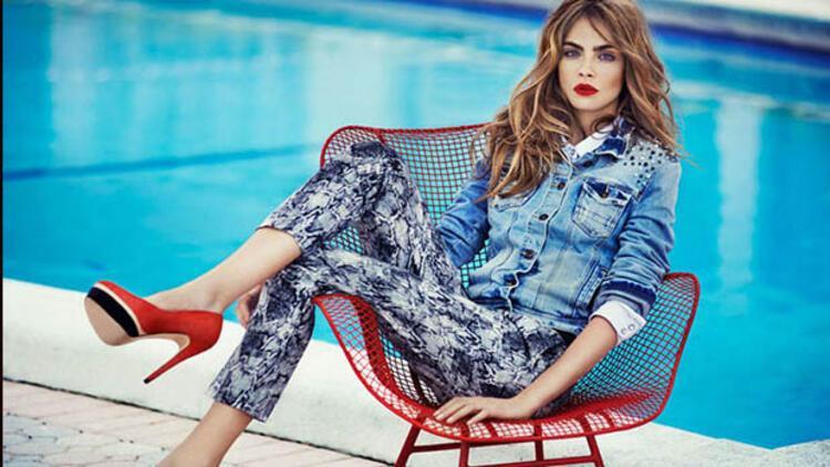 Model Cara DelevingneBond kızı olmak istiyor