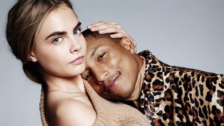 Cara ve Pharrell mı? Şahane!