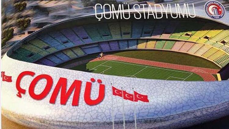 ÇOMÜye 40 bin kişilik stadyum