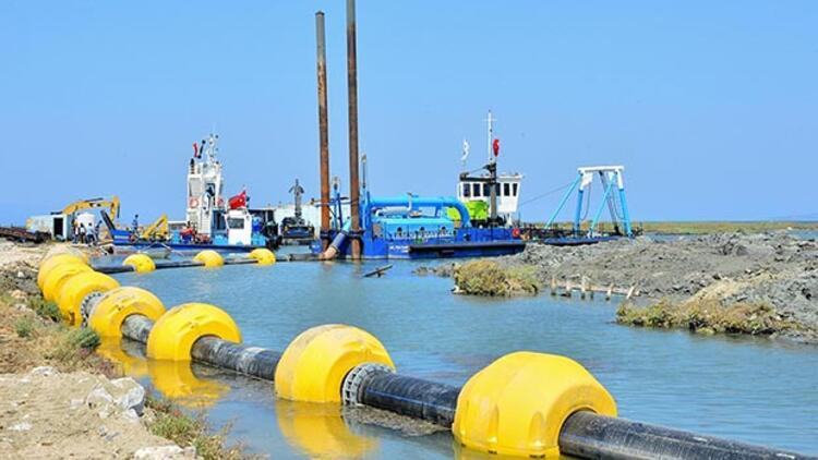 Homa Dalyanı balık cenneti olacak