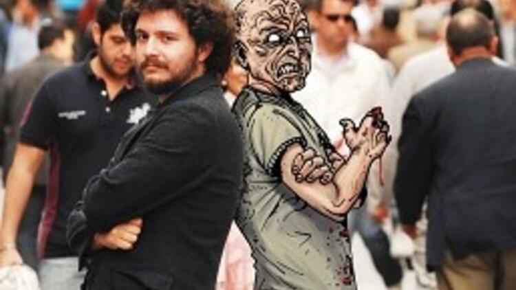 İstanbul'un zombilerini çizdi
