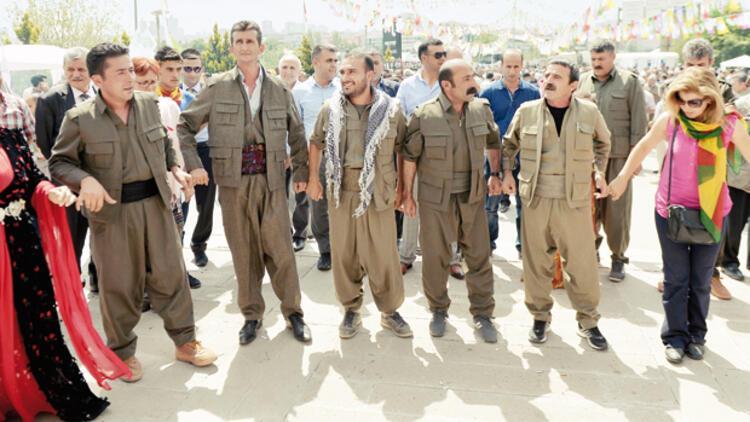 HDP'den PKK şov