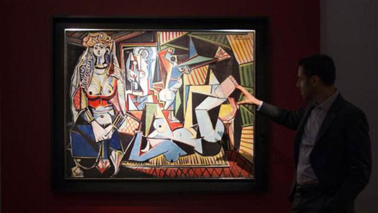 """Picasso'nun """"Cezayirli Kadınlar"""" tablosu rekor fiyata satıldı"""