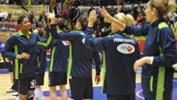 Kadın sporcular Fenerbahçe'nin gururu oldu