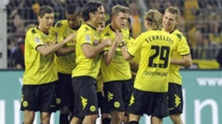 Dortmund Wolfsburg'a acımadı