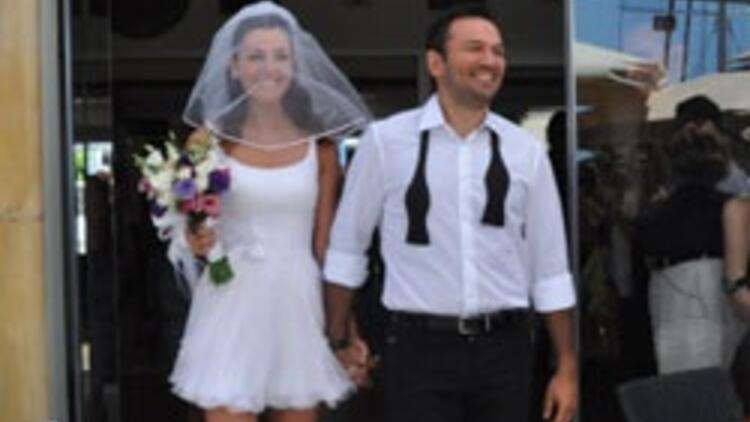 Bodrumda evlendiler