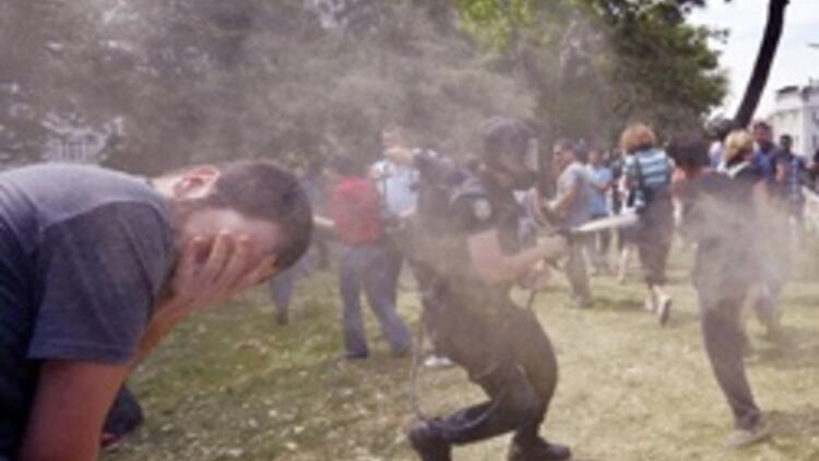 Anadolu Ajansı Gezi Parkını görmedi
