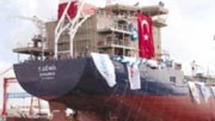 RMK Marine, T.Gönül tankerini denize indirdi