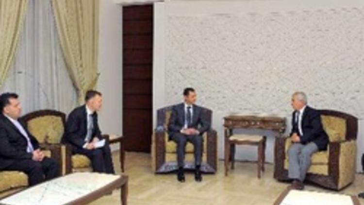 CHP'nin Esad ziyaretindeki ilginç detay