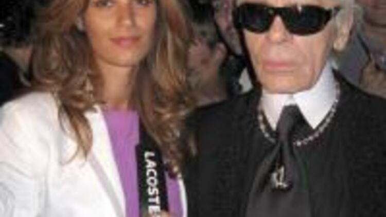 Lagerfeld ile Paris buluşması