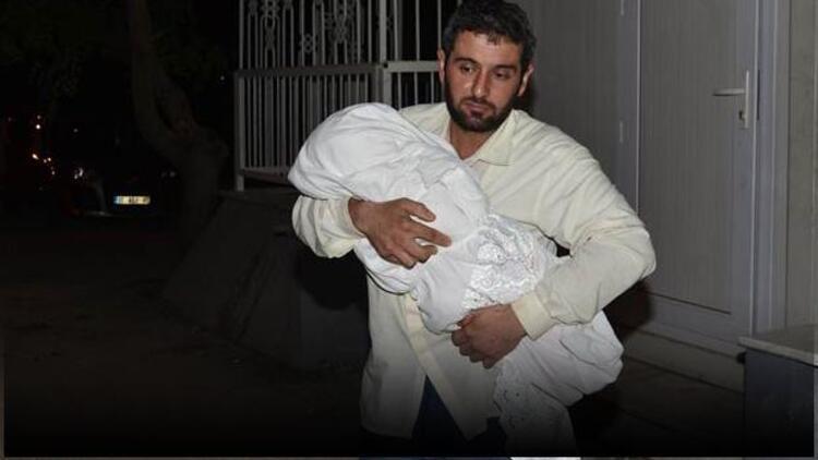 7 aylık bebeğin ölüsüyle hastane hastane gezdi