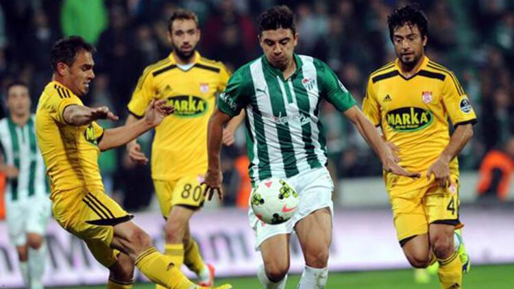 Bursaspor 8 günde 10 gol attı