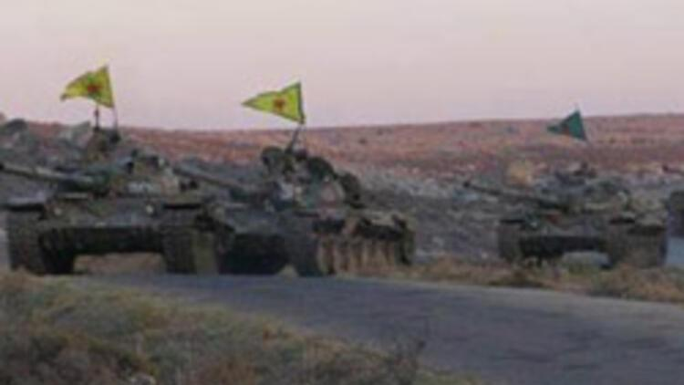 Esad'ın tankları PYD'ye sığındı