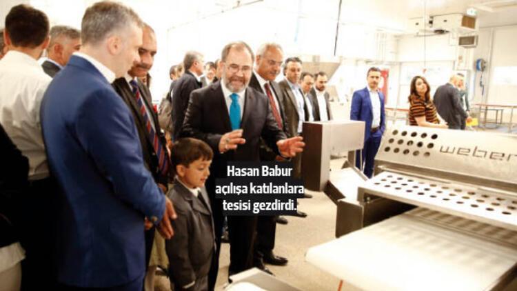 Baha Döner üretim tesisini açtı