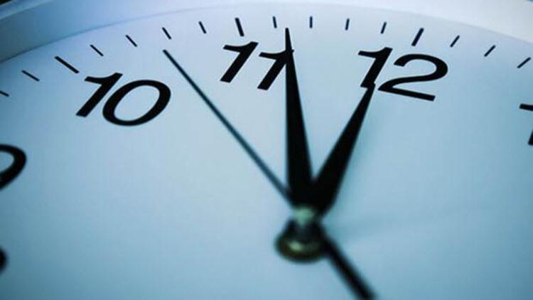 Yaz saati uygulaması 25 Ekimden 8 Kasıma alındı