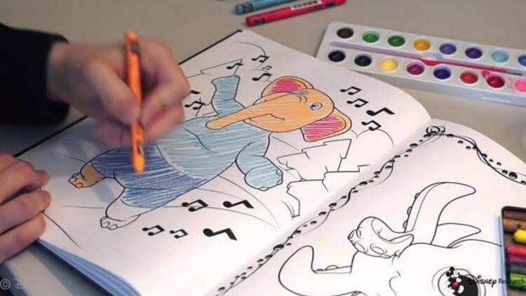 Disney Den Vr Destekli 3 Boyutlu Boyama Kitabi