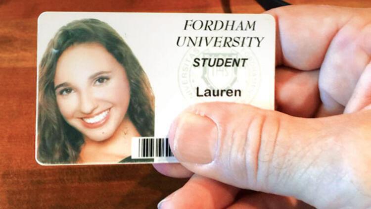Lauren kimliğini parkta buldum