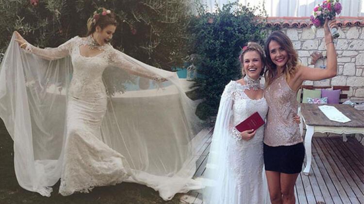 Gülhan Şen ile Alper Mestçi evlendi