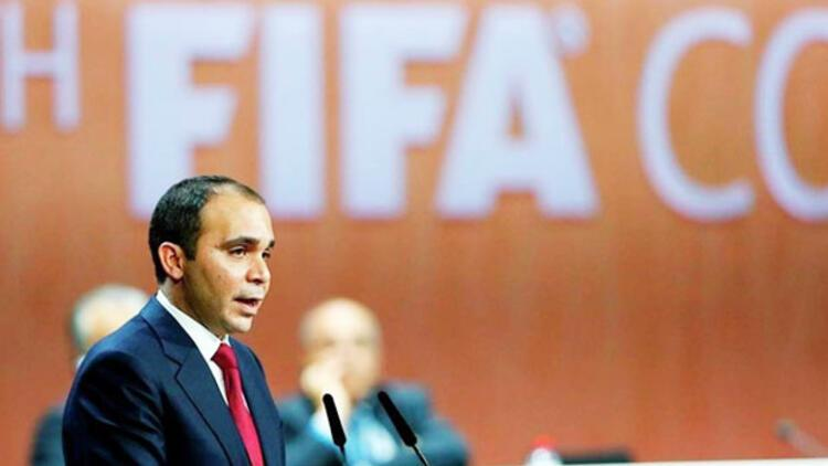 Prens Ali FIFA'da şeffaf ve demokratik bir yönetim vadetti