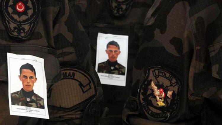 Cizre şehidi polis Ahmet Unkun, Kahramanmaraşta toprağa verildi