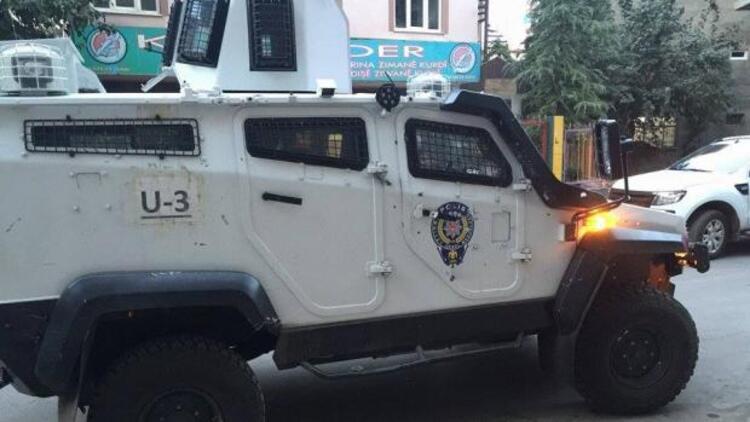 Diyarbakır'da Dicle Haber Ajansı'na polis baskını