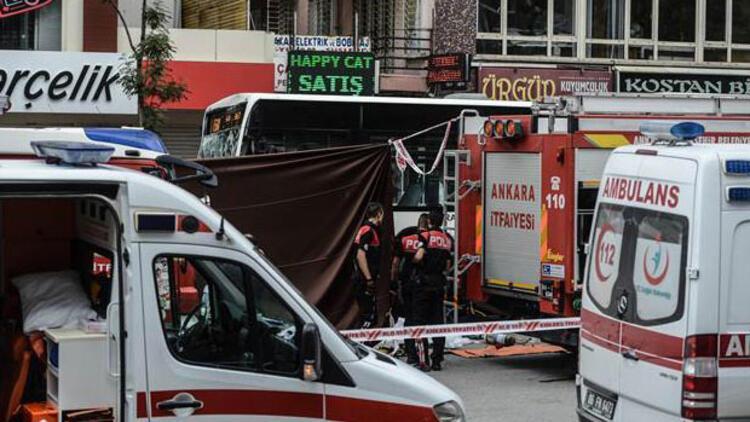 Ankara'da katliam gibi kaza