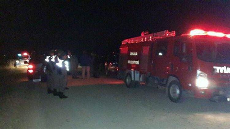 Edirnede askeri araç devrildi: 1 şehit, 3 yaralı