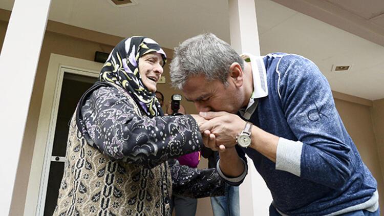 Hamzaoğlu doğduğu köyü ziyaret etti