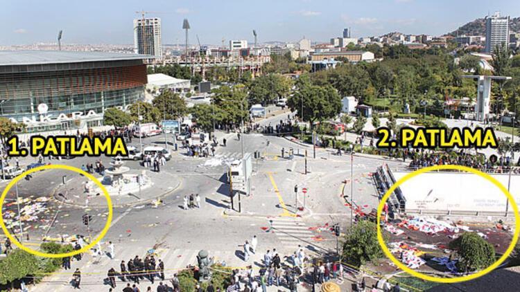 Ankara tren garı önünde patlama: 95 ölü, 48'i ağır 246 yaralı