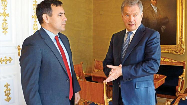 Finlandiya Cumhurbaşkanından Saray esprisi: Umarım kaybolmam
