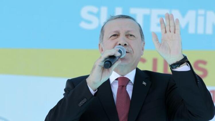 Cumhurbaşkanı Erdoğan: Güneydekiler isterse adını barış suyu koyar, onlara da veririz